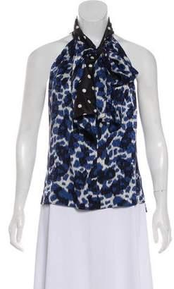 Louis Vuitton Silk Sleeveless Top