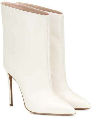 Alexandre Vauthier Leather ankle boots