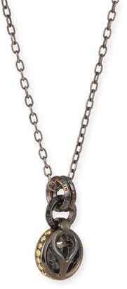 Loree Rodkin Mixed-Diamond Pendant Necklace