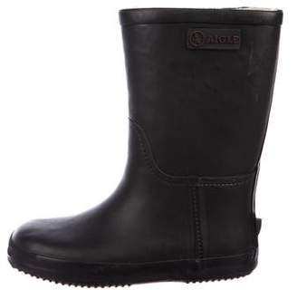 Aigle Boys' Rubber Rain Boots