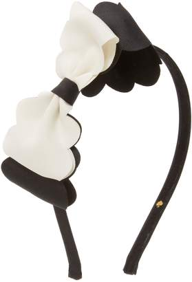 Kate Spade Two-Toned Bow Headband for Girls