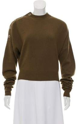 Celine Cashmere & Wool Crew Neck Sweater