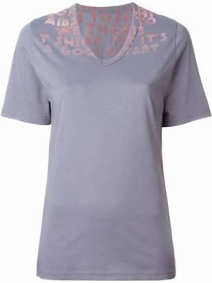 Maison Margiela felted print T-shirt