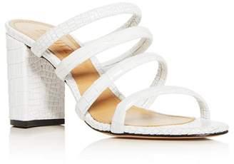Schutz Women's Felisa Strappy Block-Heel Slide Sandals