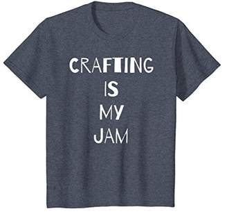 Scrapbook Crafting is My Jam T Shirt Craft Women Girls