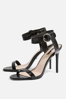 f0c0fd4a3ac614 ... Topshop Womens Ria Two Part Sandals - Black