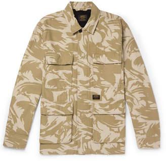 Carhartt WIP Balfour Camouflage-Print Cotton-Canvas Field Jacket