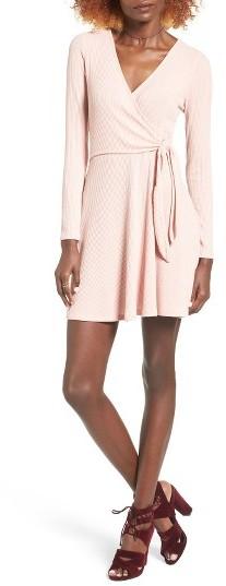 Women's Everly Rib Knit Wrap Dress