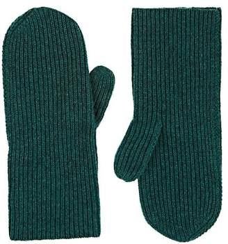 Isabel Marant Women's Chiraz Rib-Knit Cashmere Mittens