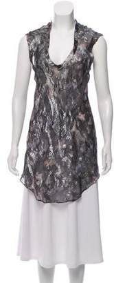 Isabel Marant Silk Metallic Tunic