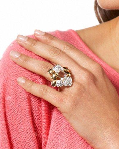 Heidi Klum Cluster Clover Ring