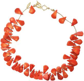 Farra - Floral Corals Statement Necklace