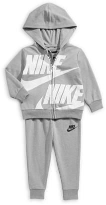 Nike Baby Boy's 3-Piece Hoodie Pant Bodysuit Set