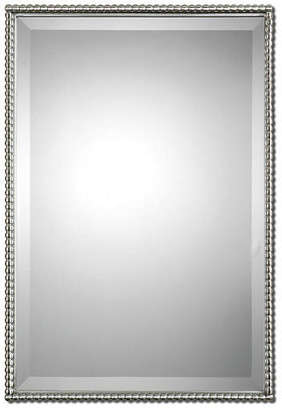 One Kings Lane Cromwell Wall Mirror - Brushed Nickel