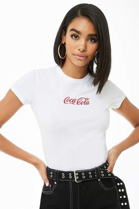 Forever 21 Coca-Cola Embroidered Tee