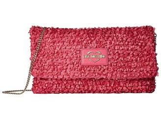 Love Moschino Chiffon Evening Bag