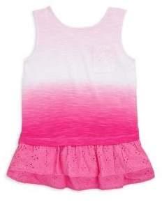 Design History Toddler's & Little Girl's Sleeveless Lace Trim Tunic