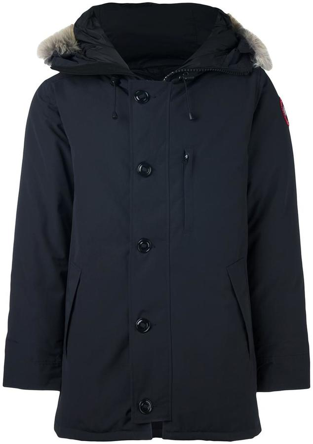 Canada Goose furred collar padded coat