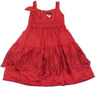 Catimini Red Cotton Dress