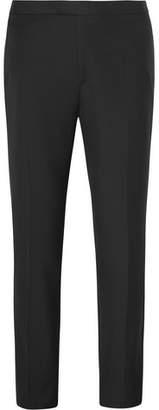 Brioni Midnight-Blue Wool Tuxedo Trousers