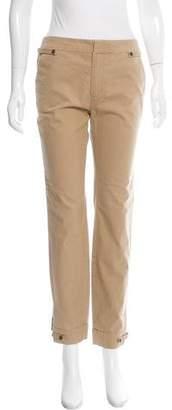 J Brand Textured Mid-Rise Pants