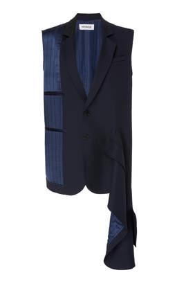 Monse Exposed Tailoring Wool Blazer Size: 0