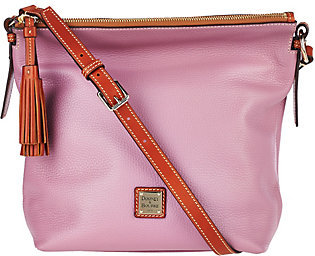Dooney & Bourke Pebble Leather Small Dixon Crossbody Bag $186 thestylecure.com