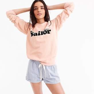 """J.Crew """"Sailor"""" sweatshirt"""