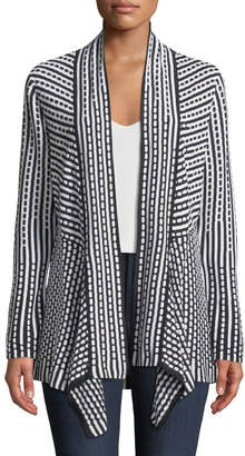 Nic+Zoe Ground Breaking Open-Front Cardigan