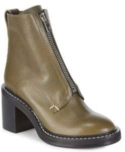 Rag & Bone Palaia Stacked Heel Zip Boots
