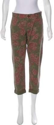 Current/Elliott Mid-Rise Printed Pants w/ Tags