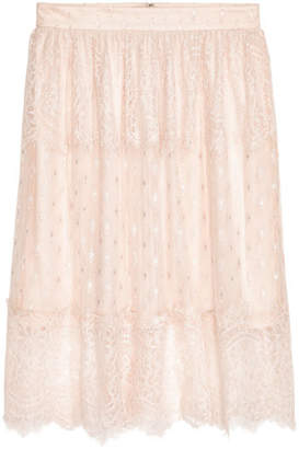 H&M Knee-length Skirt - Beige
