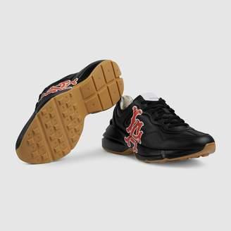 Gucci Men's Rhyton sneaker with LA Angels print