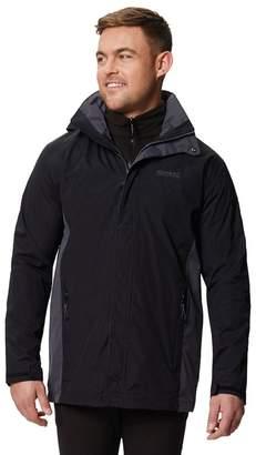Regatta Black 'Telmar' 3 In 1 Waterproof Jacket