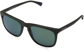 Emporio Armani EA4105 55976R EA4105 Square Sunglasses Lens Category