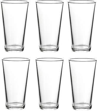 Sahm American Lager Beer Glass, 300ml (Set of 6)