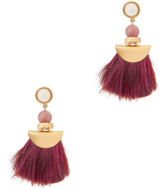 Lizzie Fortunato Red Parrot Earrings