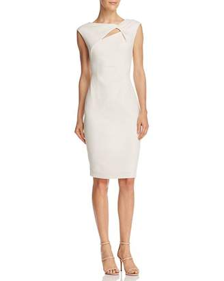 Adrianna Papell Cutout Sheath Dress