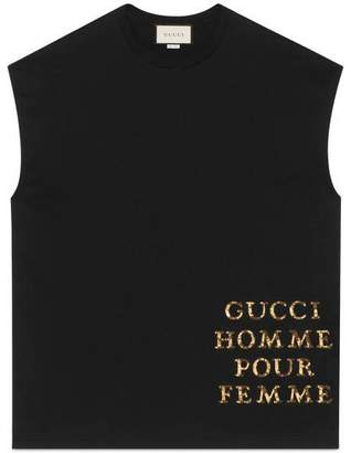 Gucci Oversize T-shirt with patch