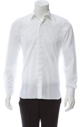 Lanvin Quilted Button-Up Shirt