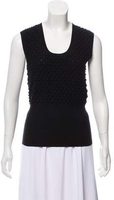 Zac Posen Sleeveless Knit Top
