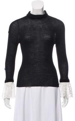 Philosophy di Lorenzo Serafini Rib-Knit Turtleneck Sweater