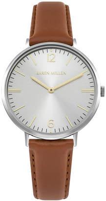 Karen Millen Contemporary Leather Watch