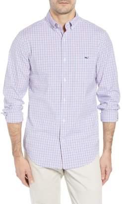 Vineyard Vines Clark Cove Tucker Classic Fit Check Sport Shirt