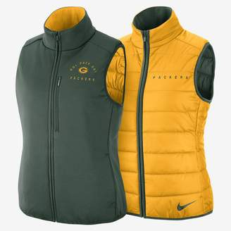 Nike NFL Packers) Women's Reversible Vest