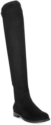 Kenneth Cole Reaction Women's Wind-y Over-The-Knee Boots $149 thestylecure.com