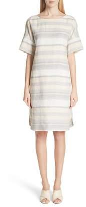 Lafayette 148 New York Lydia Stripe Linen Dress