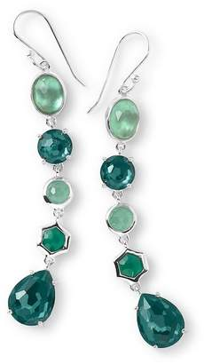 Ippolita Sterling Silver Rock Candy Wonderland 5-Stone Linear Drop Earrings