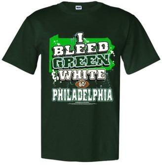 "Encore Select Philadelphia Football ""I Bleed Green and White - 3X Large T-Shirt"