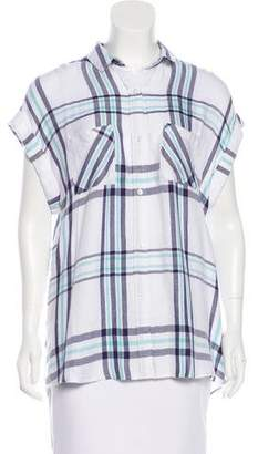 Rails Sleeveless Button-Up Top w/ Tags
